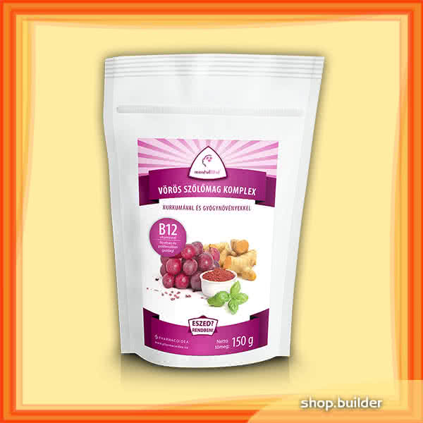 PharmacoIdea Red grape seed complex + B12 150 gr.