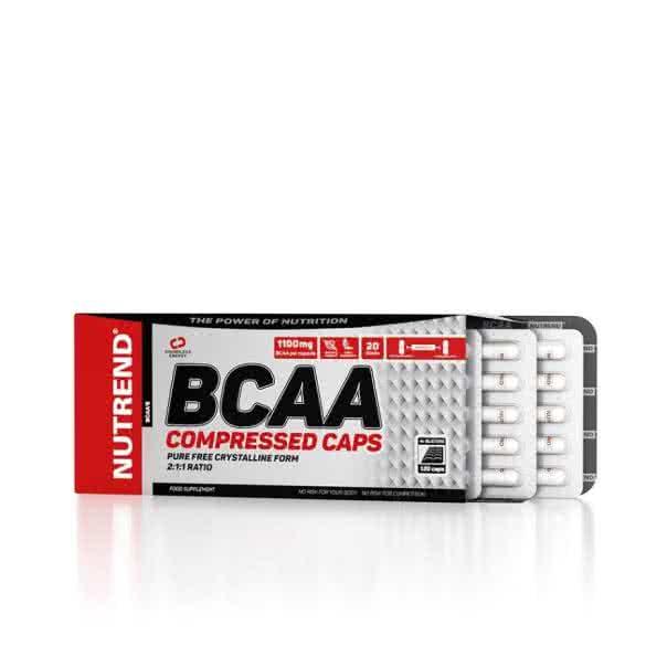 Nutrend BCAA Compressed 120 kap.