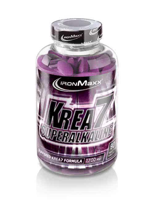 IronMaxx Krea7 Superalkaline 90 kap.