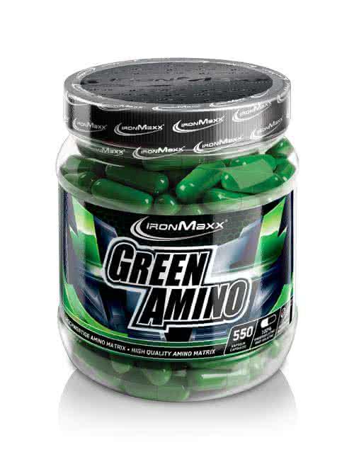 IronMaxx Green Amino  550 kap.