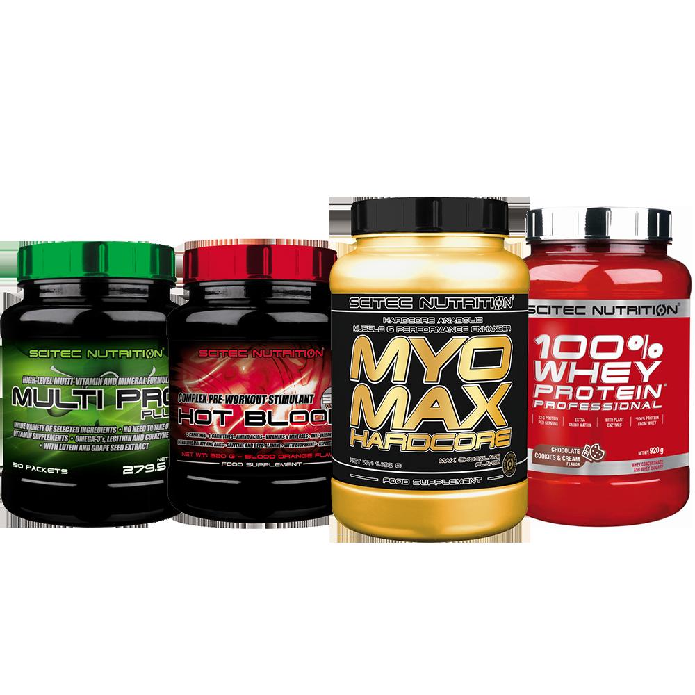 Scitec Nutrition Lean Muscle Builder Premium Stack