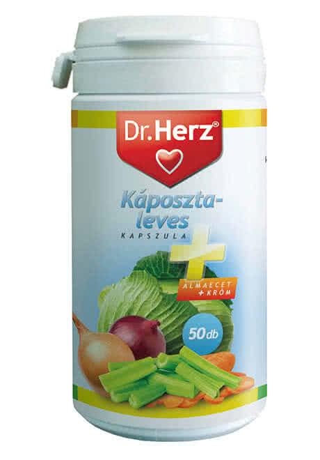 Dr. Herz Cabbage Soup Capsules 50 kap.