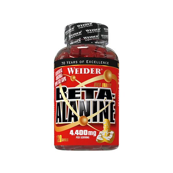 Weider Nutrition Beta-Alanine 120 kap.