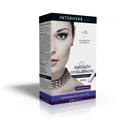 Interherb Collagen & Hyaluron EXTRA 30 kap.