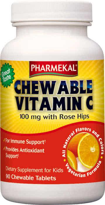 Pharmekal Chewable Vitamin C 90 žvakaćih tableta