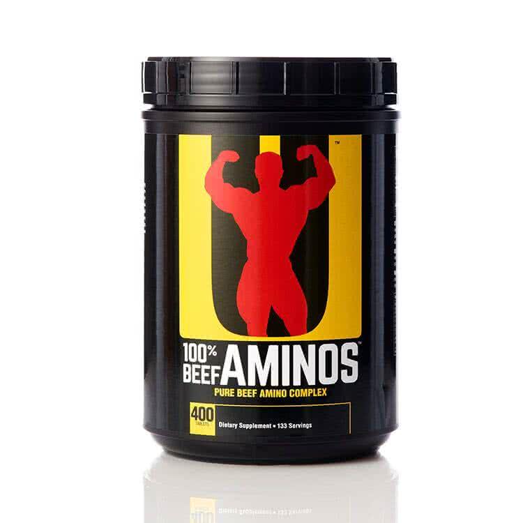 Universal Nutrition Beef Aminos 400 tab.