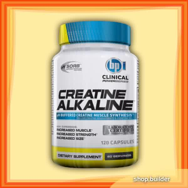 BPI Sports Creatine Alkaline 120 kap.