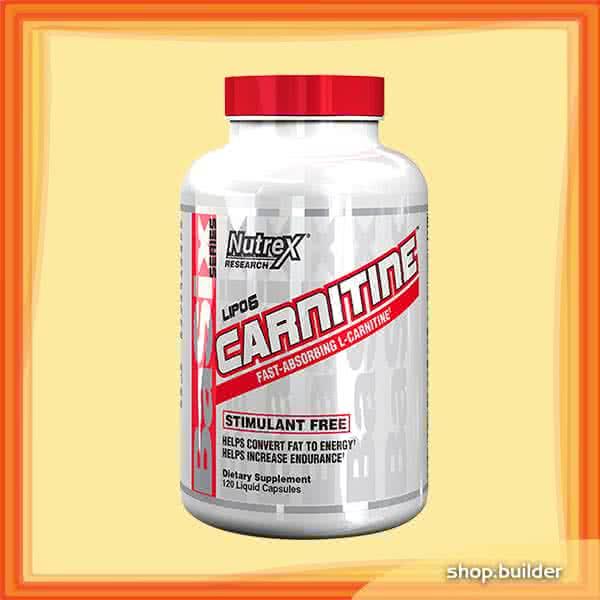 NutreX Research Lipo-6 Carnitine 120 kap.