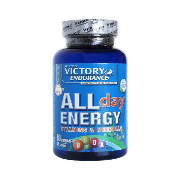 Weider Nutrition All Day Energy 90 kap.