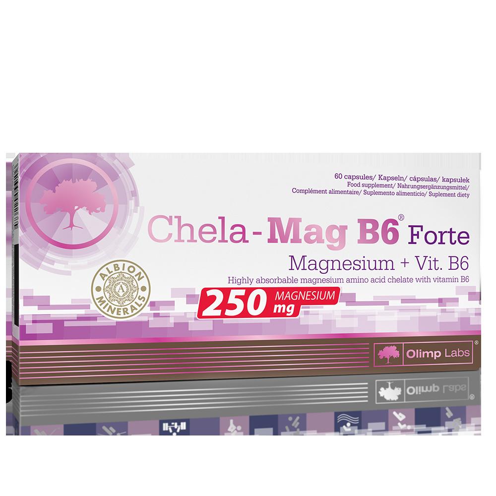 Olimp Sport Nutrition Chela-Mag B6 Forte 60 kap.
