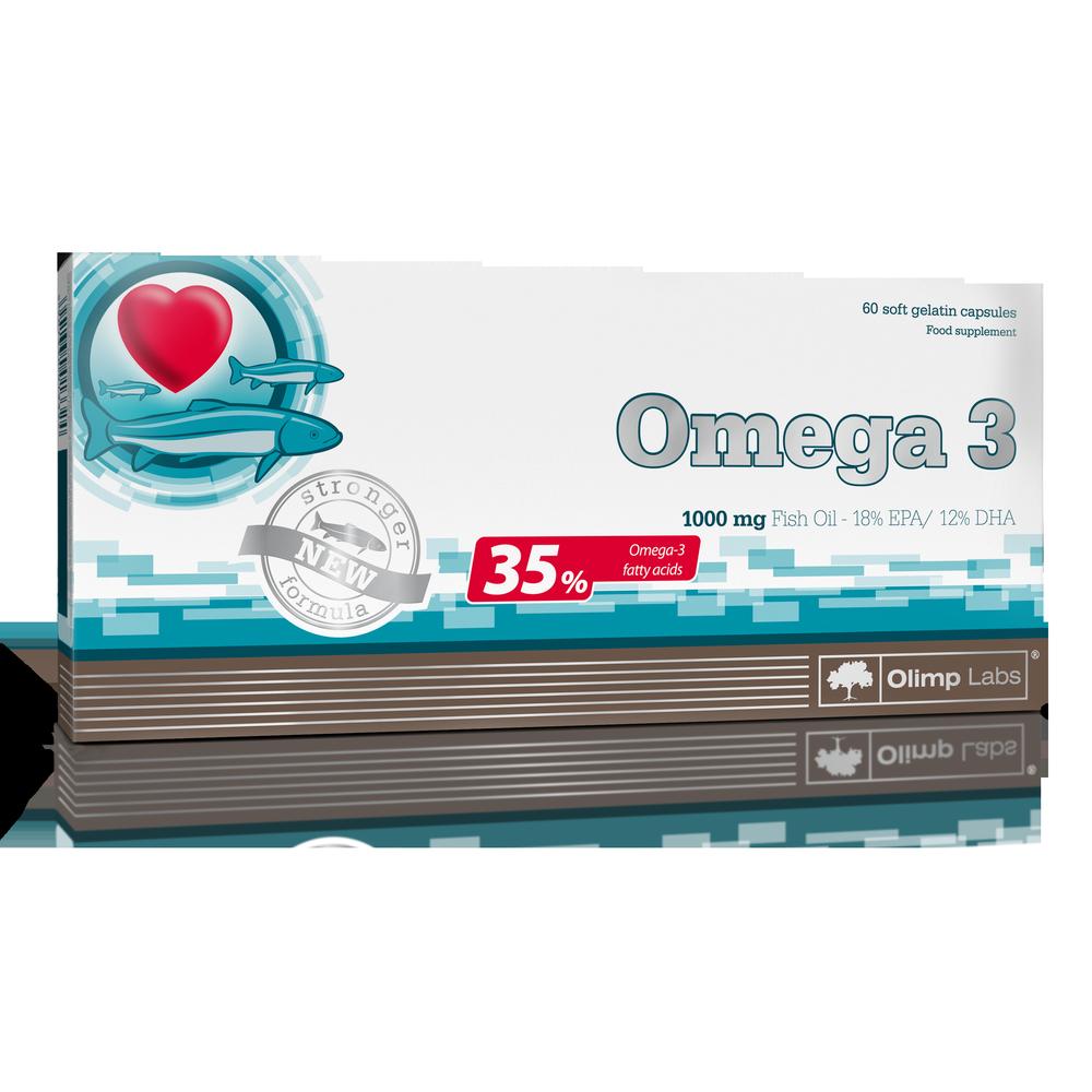 Olimp Sport Nutrition Omega-3 60 kap.