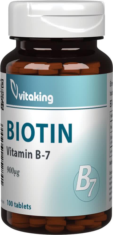 VitaKing Biotin 100 tab.