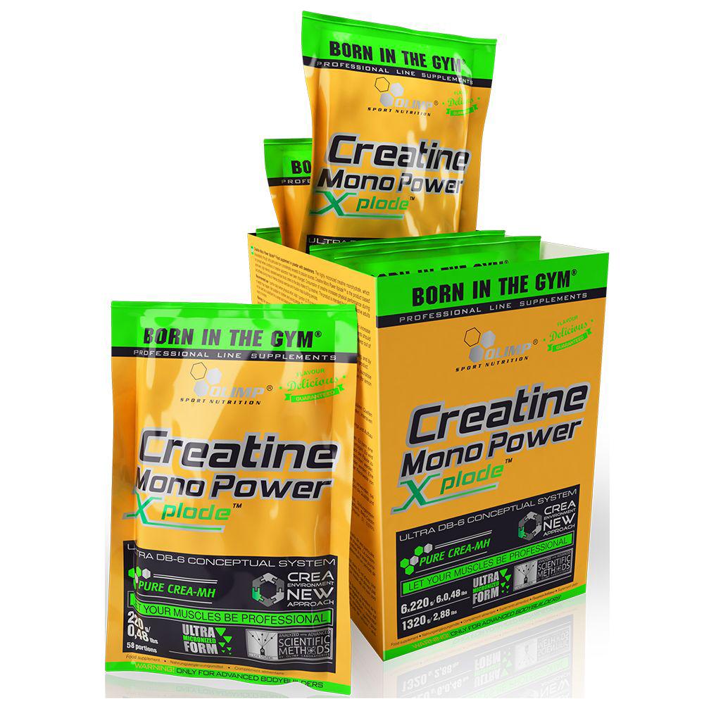 Olimp Sport Nutrition Creatine Mono Power Xplode 220 gr.