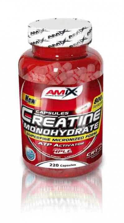 Amix Creatine Monohydrate Capsules 220 kap.