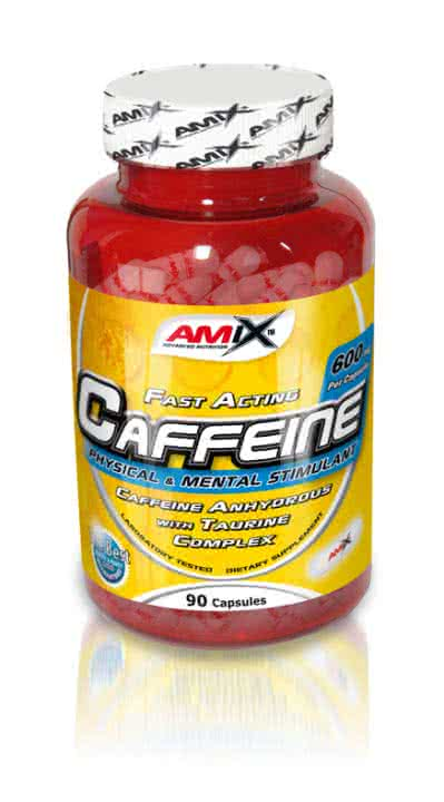 Amix Caffeine with Taurine 90 kap.