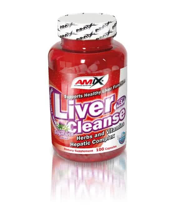 Amix Liver Cleanse 100 kap.