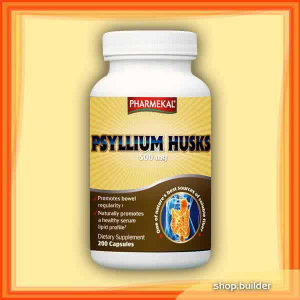 Pharmekal Psyllium Husk 200 kap.