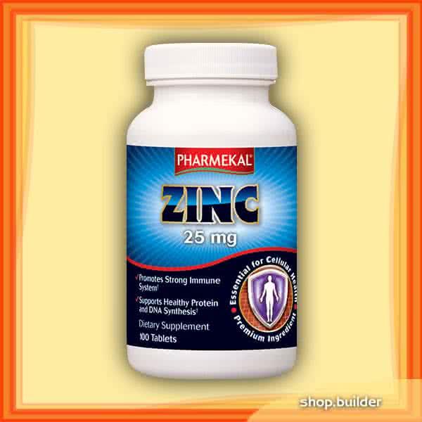 Pharmekal Zinc 25mg 100 tab.