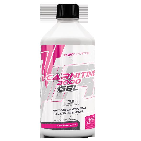 Trec Nutrition L-Carnitine 3000 Gel  500 ml.