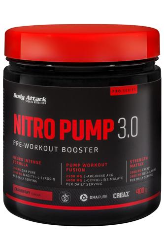 Body Attack Nitro Pump 3.0 400 gr.