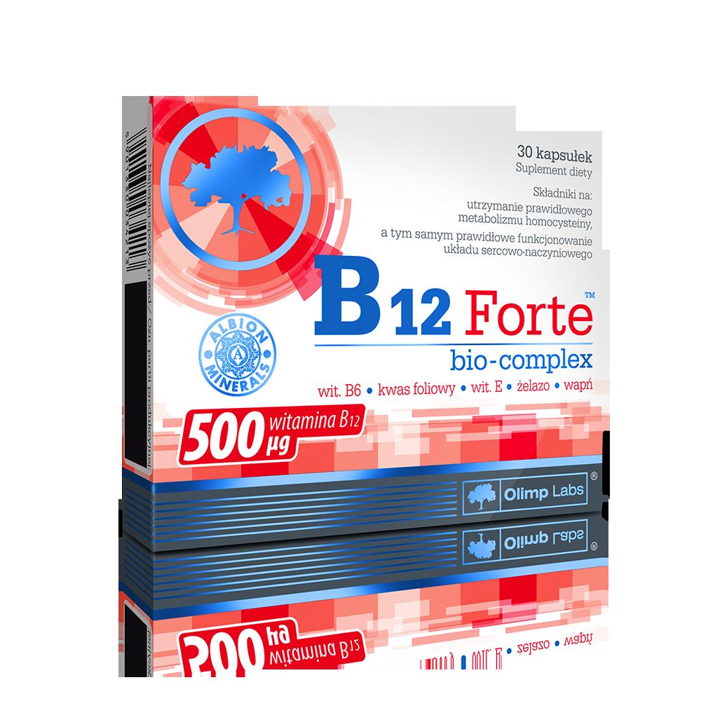 Olimp Sport Nutrition B12 Forte  30 kap.