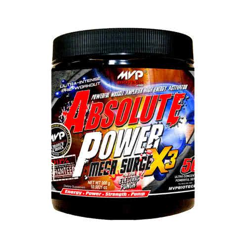 MVP Biotech Absolute Power Mega Surge X 3.1 300 gr.