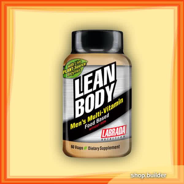 Labrada Nutrition Lean Body Mens Multi-Vitamin 60 kap.