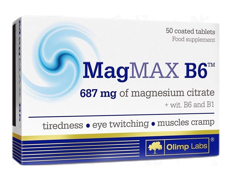 Olimp Sport Nutrition MagMax B6 50 tab.