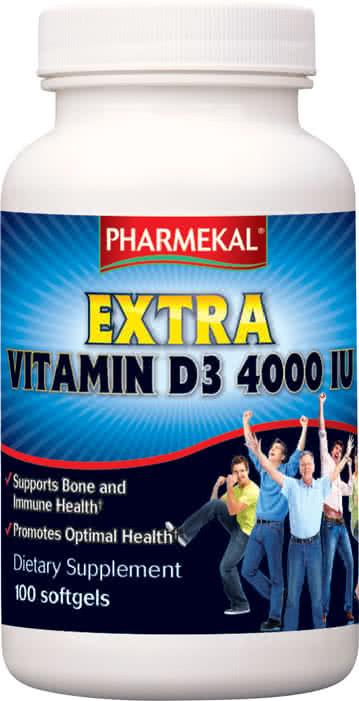 Pharmekal Extra Vitamin D3 (4000 IU) 100 g.k.