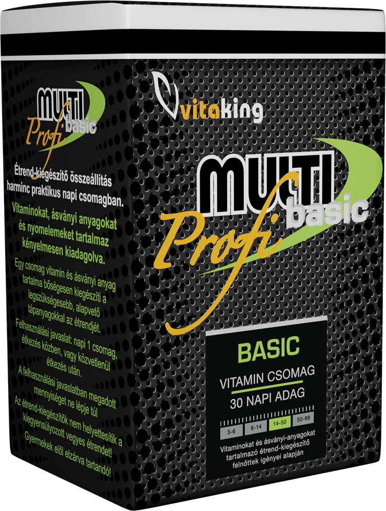 VitaKing Multi Basic Profi 30 pak.