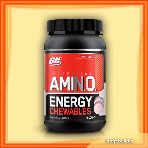 Optimum Nutrition Amino Energy Chewables 75 žvakaćih tableta