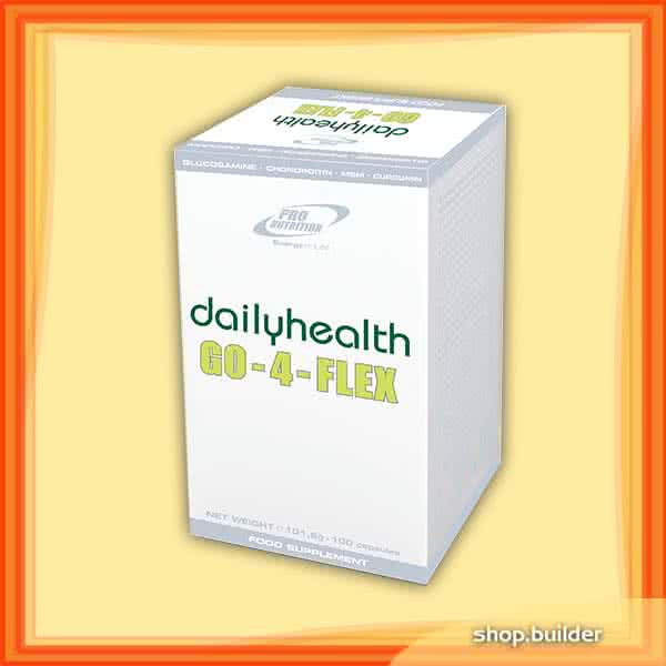 Pro Nutrition Dailyhealth Go-4-Flex 100 kap.