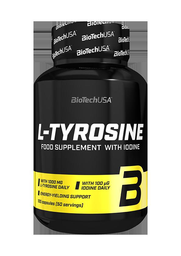 BioTech USA L-Tyrosine 100 kap.