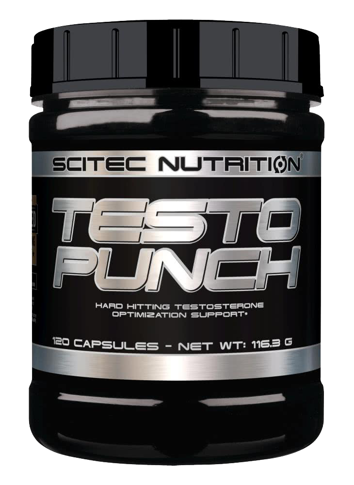 Scitec Nutrition Testo Punch 120 kap.