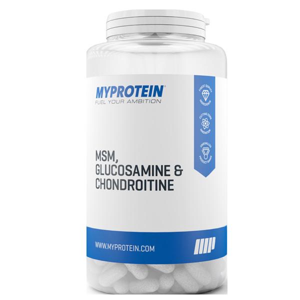 Myprotein MSM Glucosamine Chondroitin 120 kap.