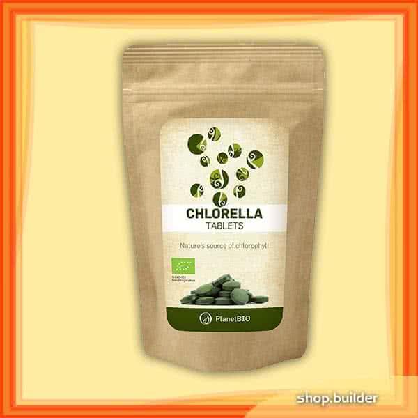 PlanetBio Chlorella 180 tab.