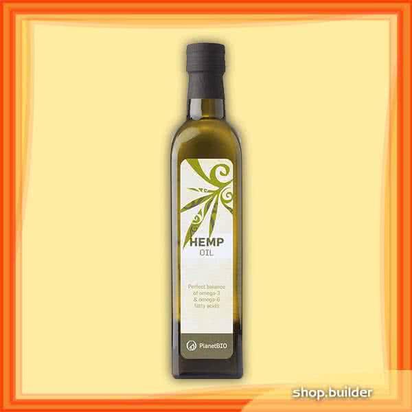 PlanetBio Konopljino ulje 250 ml