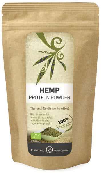 PlanetBio Hemp Protein Powder 0,2 kg