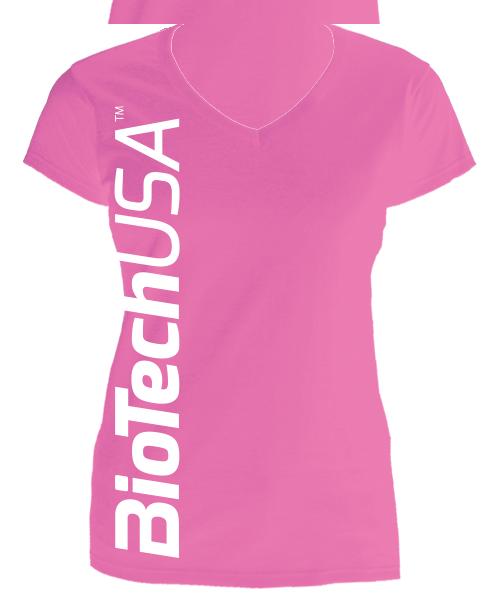 BioTech USA Sweet Pink ženska majica