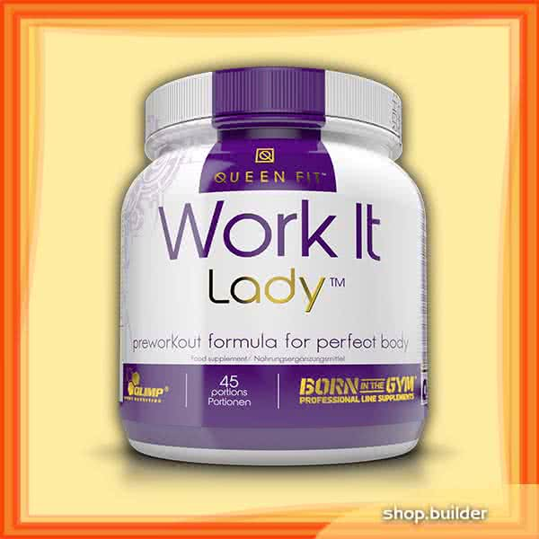 Olimp Sport Nutrition Queen Fit Work It Lady Preworkout 337 gr.