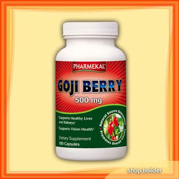 Pharmekal Goji Berry 100 kap.