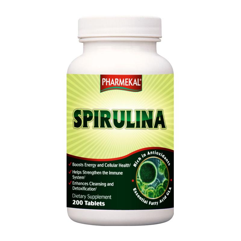 Pharmekal Spirulina 200 tab.