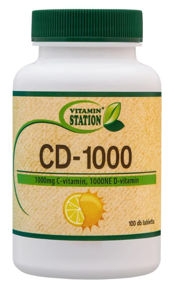 Vitamin Station CD-1000 100 tab.