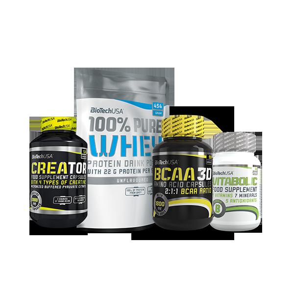 BioTech USA Muscle Pack set