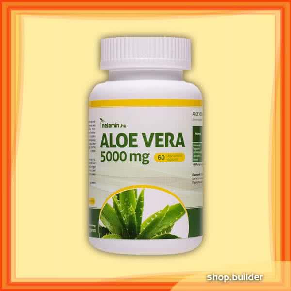 Netamin Aloe Vera 5000mg 60 kap.