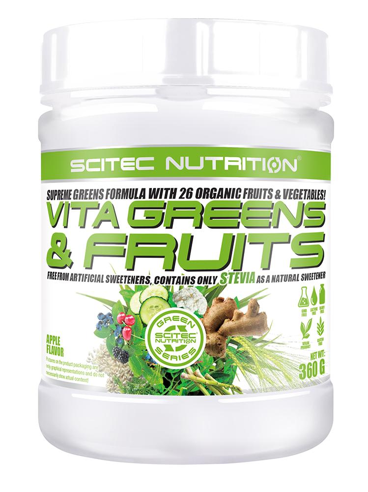 Scitec Nutrition Vita Greens & Fruits sa steviom 360 gr.