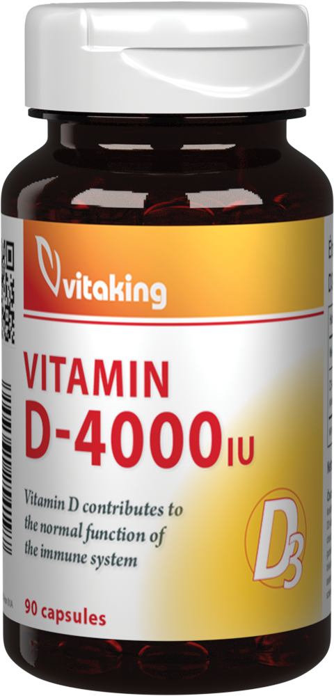 VitaKing Vitamin D-4000 90 kap.