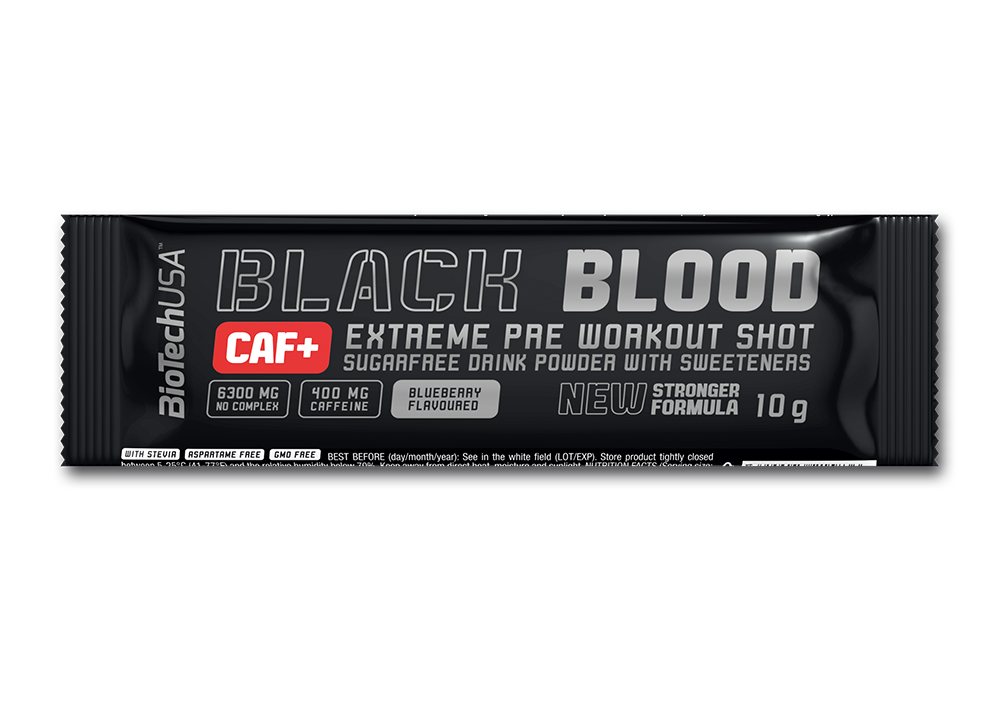 BioTech USA Black Blood CAF+ 10 gr.