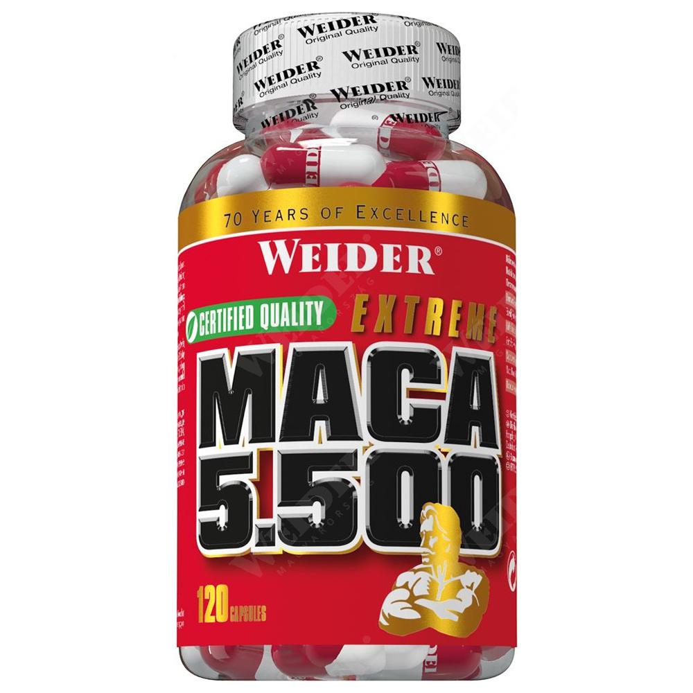 Weider Nutrition Maca 5500 120 kap.