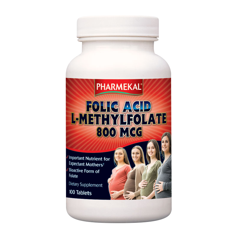 Pharmekal Folic Acid (L-Methylfolate) 100 kap.